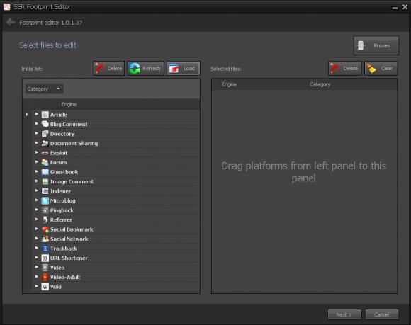 SER Footprint Editor 1.0.2.14