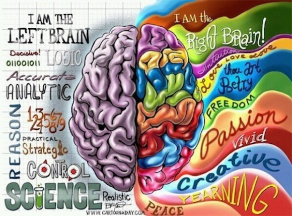 creating mind map brain